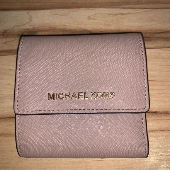 Michael Kors Handbags - Light Pink/ Beige Michael Kors Wallet